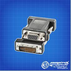 Переходник DVI-D (m) - VGA 15 (f) (адаптер)