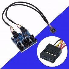 Внутренний разветвитель USB 2.0, 4 порта