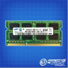 Оперативная память Samsung SO-DIMM DDR3 4Gb 1333Mhz pc-10600 (M471B5273DH0-CH9) OEM