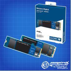 SSD диск Western Digital Blue SN550 M.2 2280 250 Gb PCIe Gen3x4 NVMe 3D NAND TLC (WDS250G2B0C)
