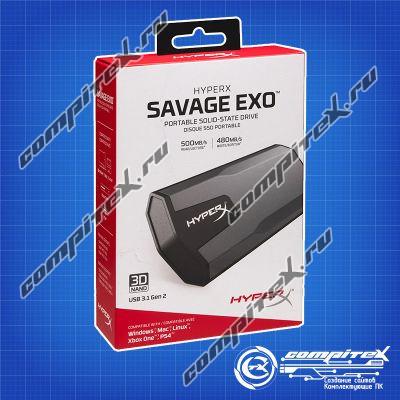 Внешний SSD KINGSTON HyperX EXO 480 Gb (SHSX100/480G)