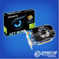 Видеокарта GIGABYTE GeForce GT 630, 2Гб, 128Бит, DDR3, OEM [GV-N630-2GI]